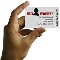 Kundenkarte Liszt-Apotheke